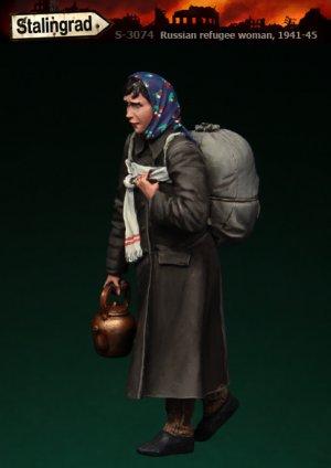 Refugiada Rusa 1941-45  (Vista 2)