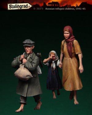 Niños refugiados Rusos 1941-45   (Vista 1)