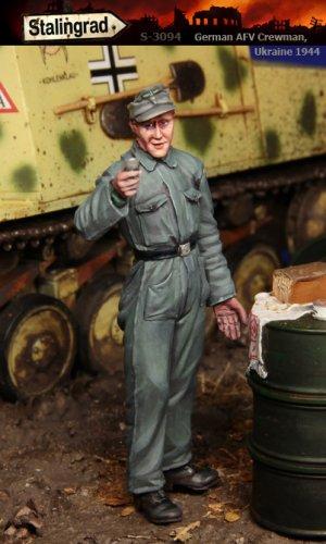Tanquista Aleman Ucrania 1944  (Vista 1)