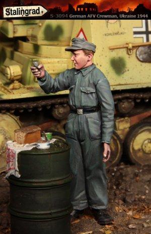 Tanquista Aleman Ucrania 1944  (Vista 2)