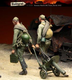 Soldados Rusos con MG Kursk  (Vista 3)