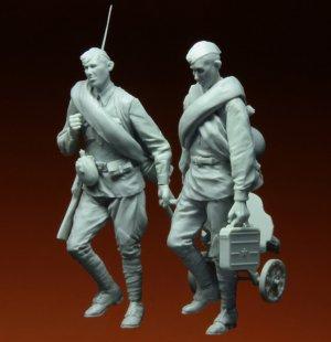 Soldados Rusos con MG Kursk  (Vista 5)