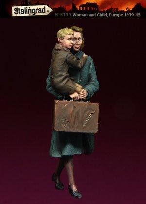 Mujer y Crio  (Vista 1)