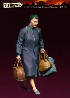 Mujer Refugiada  (Vista 1)