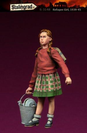 Chica de refugiados  (Vista 1)