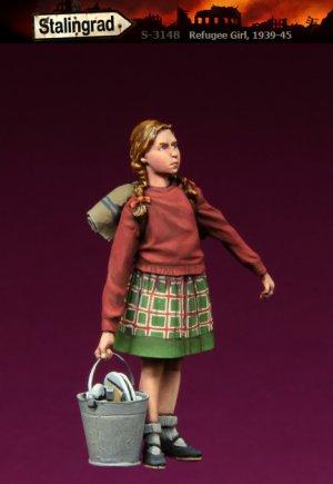 Chica de refugiados  (Vista 2)