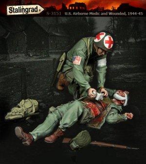 US Airborne Medico y Heridos 1944-45  (Vista 1)