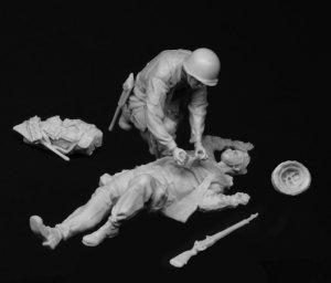 US Airborne Medico y Heridos 1944-45  (Vista 4)