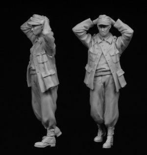 Prisionero de guerra alemán 1944-45  (Vista 3)