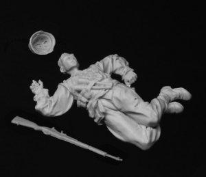 Soldado alemán caído, 1944-45  (Vista 3)