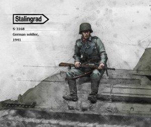 Soldado Aleman 1941  (Vista 1)