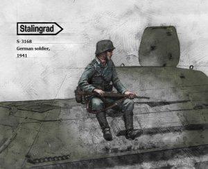 Soldado Aleman 1941  (Vista 2)