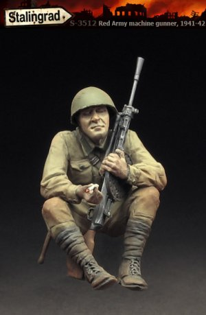 Red Army machine gunner   (Vista 2)