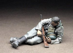 German Infantryman at rest,1939-44  (Vista 1)
