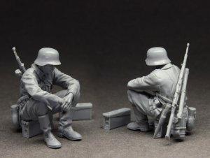 German Infantryman at rest  (Vista 3)