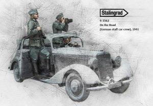 German staff car crew, 1941  (Vista 3)