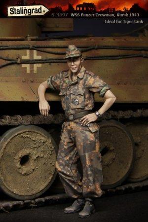WSS Panzer Crewman  (Vista 1)