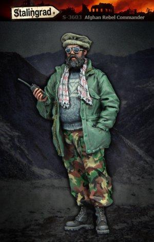 Comandante Rebelde Afgano  (Vista 1)