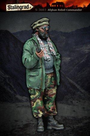 Comandante Rebelde Afgano  (Vista 2)