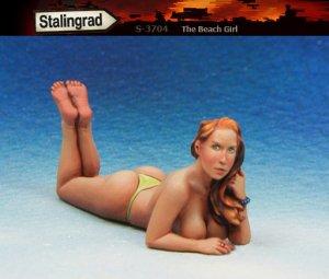 La chica de la playa  (Vista 1)