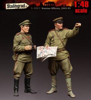 Russian Officers, 1943-1945  (Vista 1)