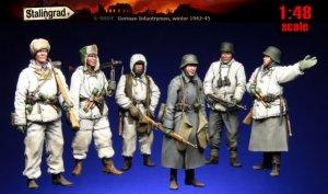 German Infantrymen, winter 1942-45  (Vista 1)