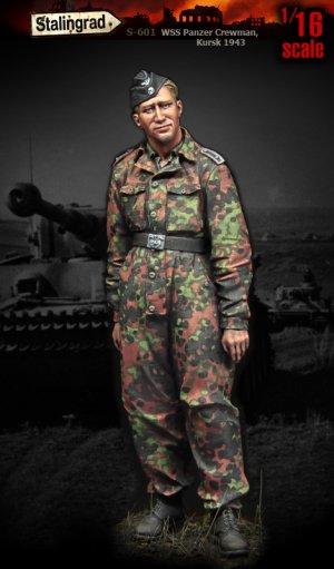 WSS Panzer Crewman, Kursk 1943  (Vista 1)