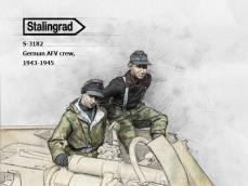 Tripulación AFV Alemana,  1943-1945 - Ref.: STAL-3182