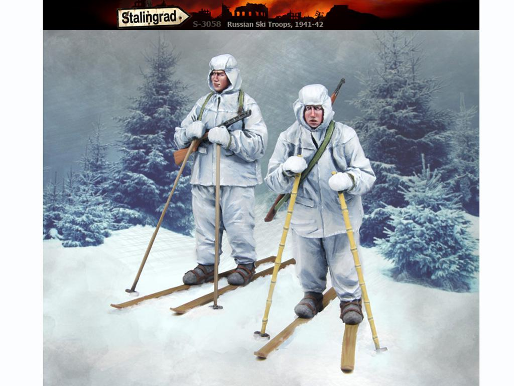 Esquiadores Rusos 1941-42 (Vista 1)