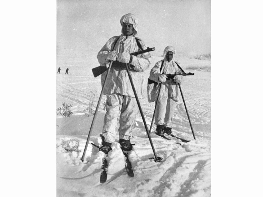 Esquiadores Rusos 1941-42 (Vista 2)