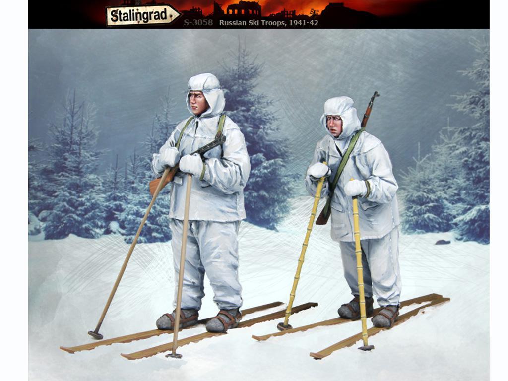Esquiadores Rusos 1941-42 (Vista 3)