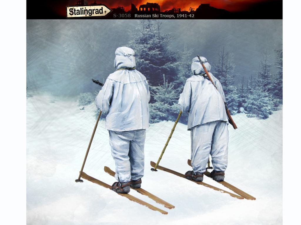 Esquiadores Rusos 1941-42 (Vista 4)