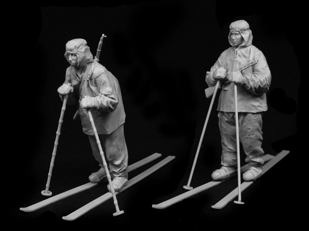 Esquiadores Rusos 1941-42 (Vista 5)