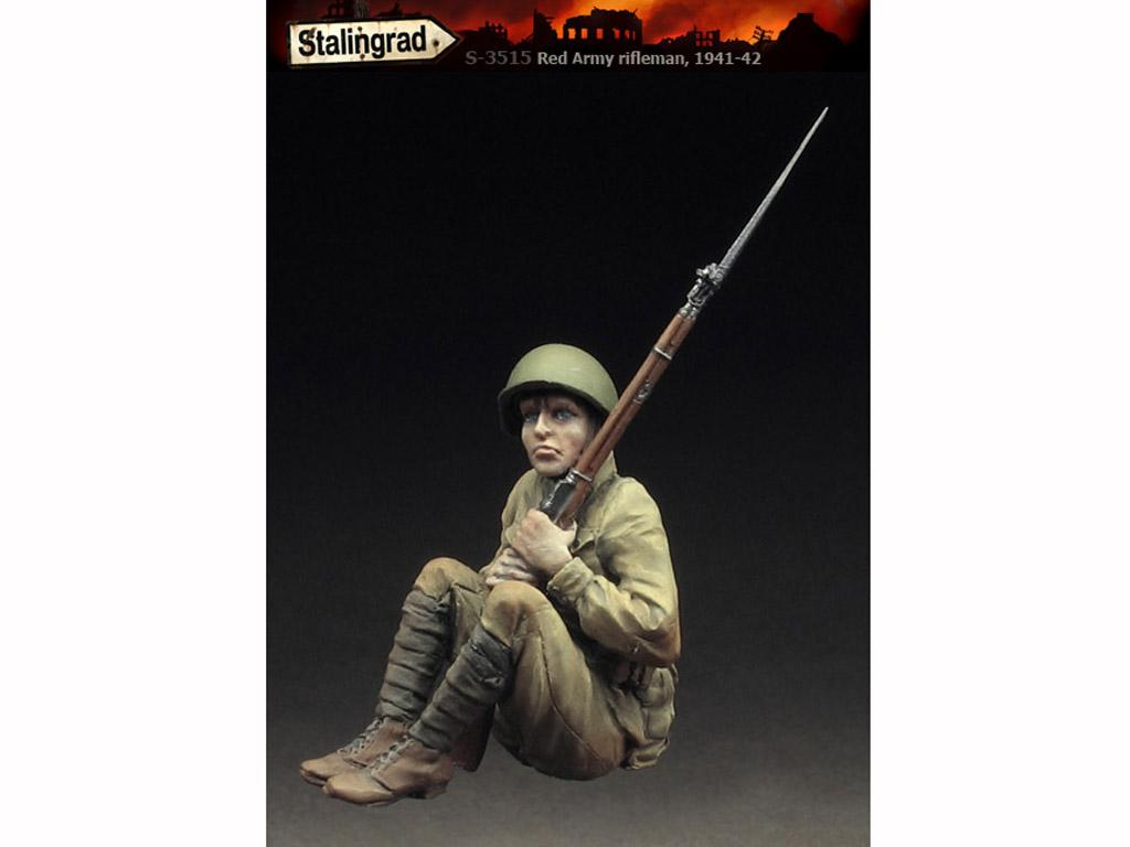 Fusilero del Ejército Rojo IV (Vista 3)