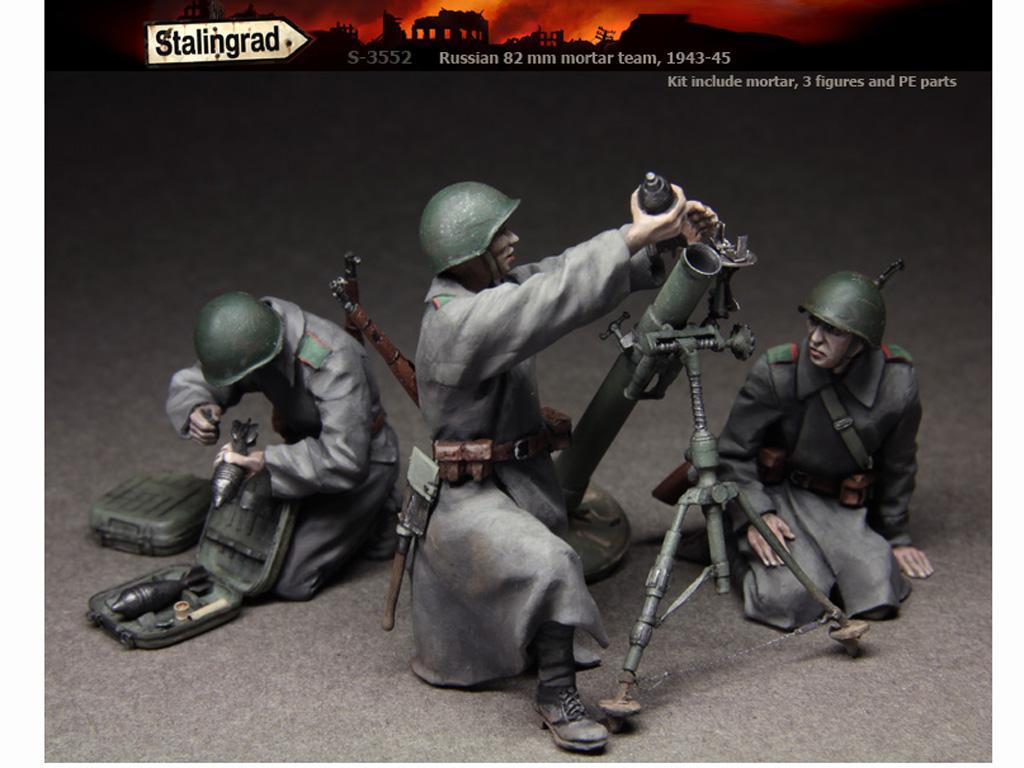 Equipo ruso de mortero 1943-45 (Vista 1)