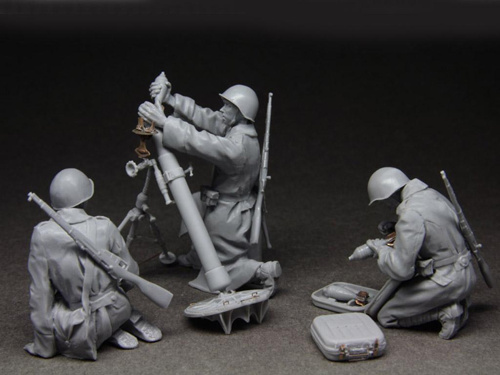 Equipo ruso de mortero 1943-45 (Vista 2)
