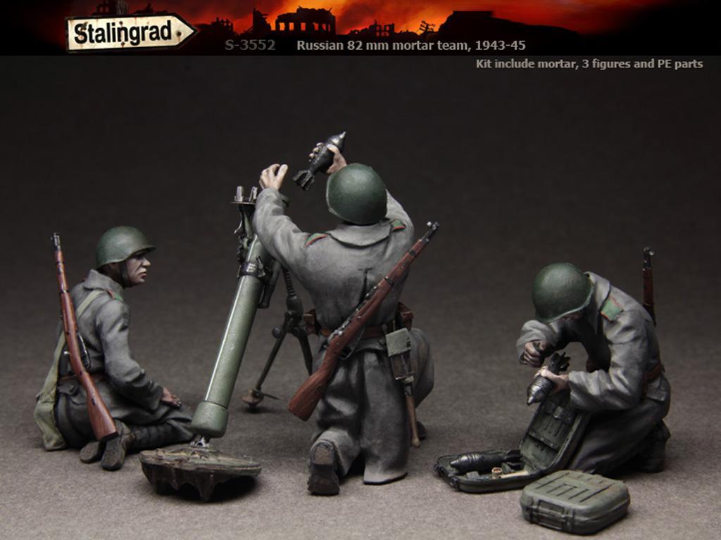 Equipo ruso de mortero 1943-45 (Vista 3)
