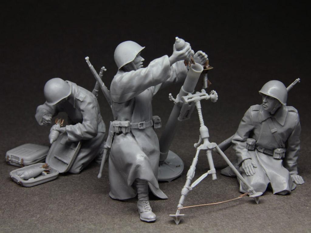 Equipo ruso de mortero 1943-45 (Vista 4)