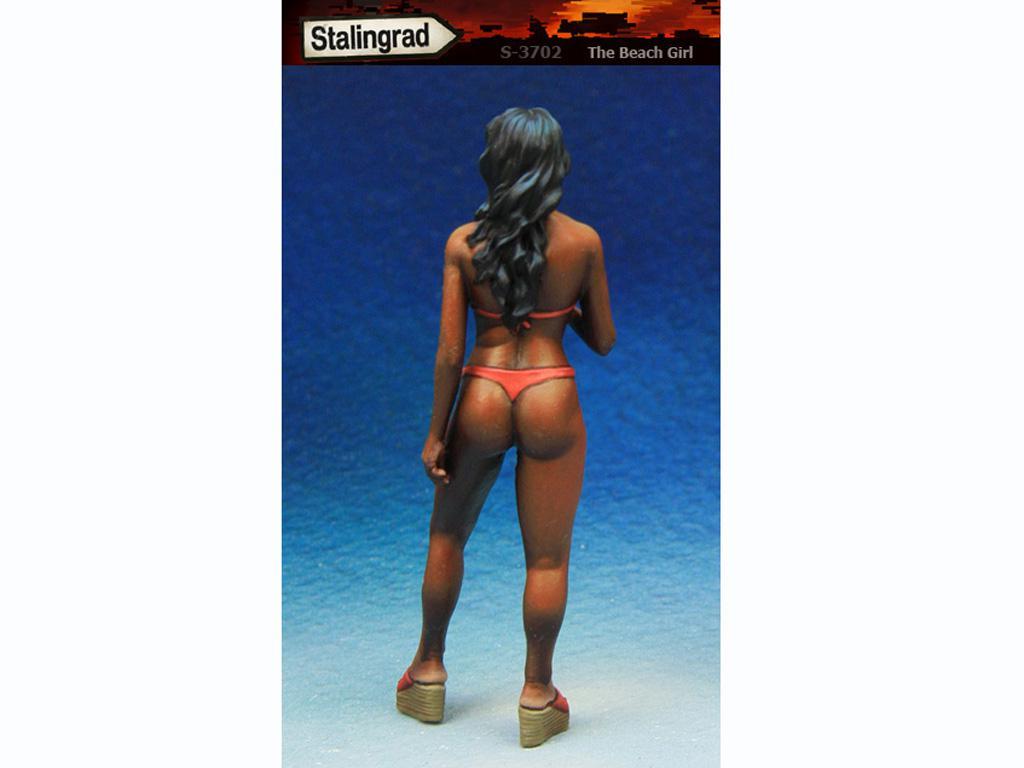 La chica de la playa (Vista 2)