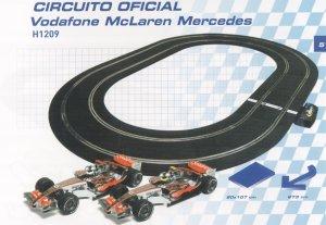 Circuito Vodafone - Ref.: SUPE-1209