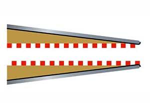 Entradas de arcén 350 mm x 2  (Vista 1)
