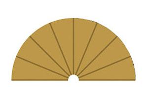 Arcén interior radio 1 180º x 2  (Vista 1)