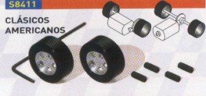 Set Llanta Aluminio + N. Silicona Clási  (Vista 1)