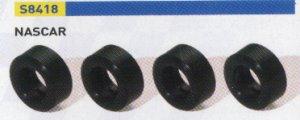 Set Neumáticos Silicona Para Nascar (4u  (Vista 1)