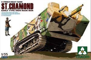 French Heavy Tank St.Chamond Early Type  - Ref.: TAKO-2002