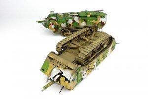French Heavy Tank St.Chamond Early Type   (Vista 4)