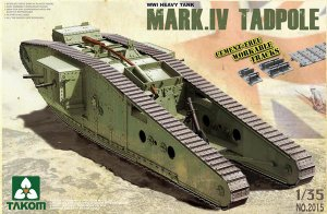 Heavy Tank w/Rear Mortar Mark.IV Male Ta - Ref.: TAKO-2015