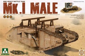 Heavy Battle Tank Mk.I Male 2 in 1 - Ref.: TAKO-2031