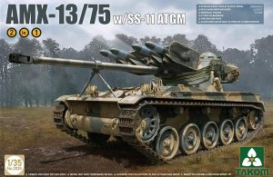 French light tank AMX-13/75 SS11 ATGM