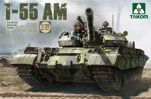 Russian Medium Tank T-55 AM